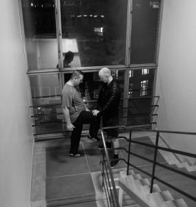 Funktionel åndedrætstræning på trappen