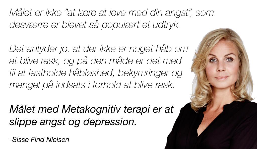 Meta kognitiv terapi - interview med Sisse Find Nielsen