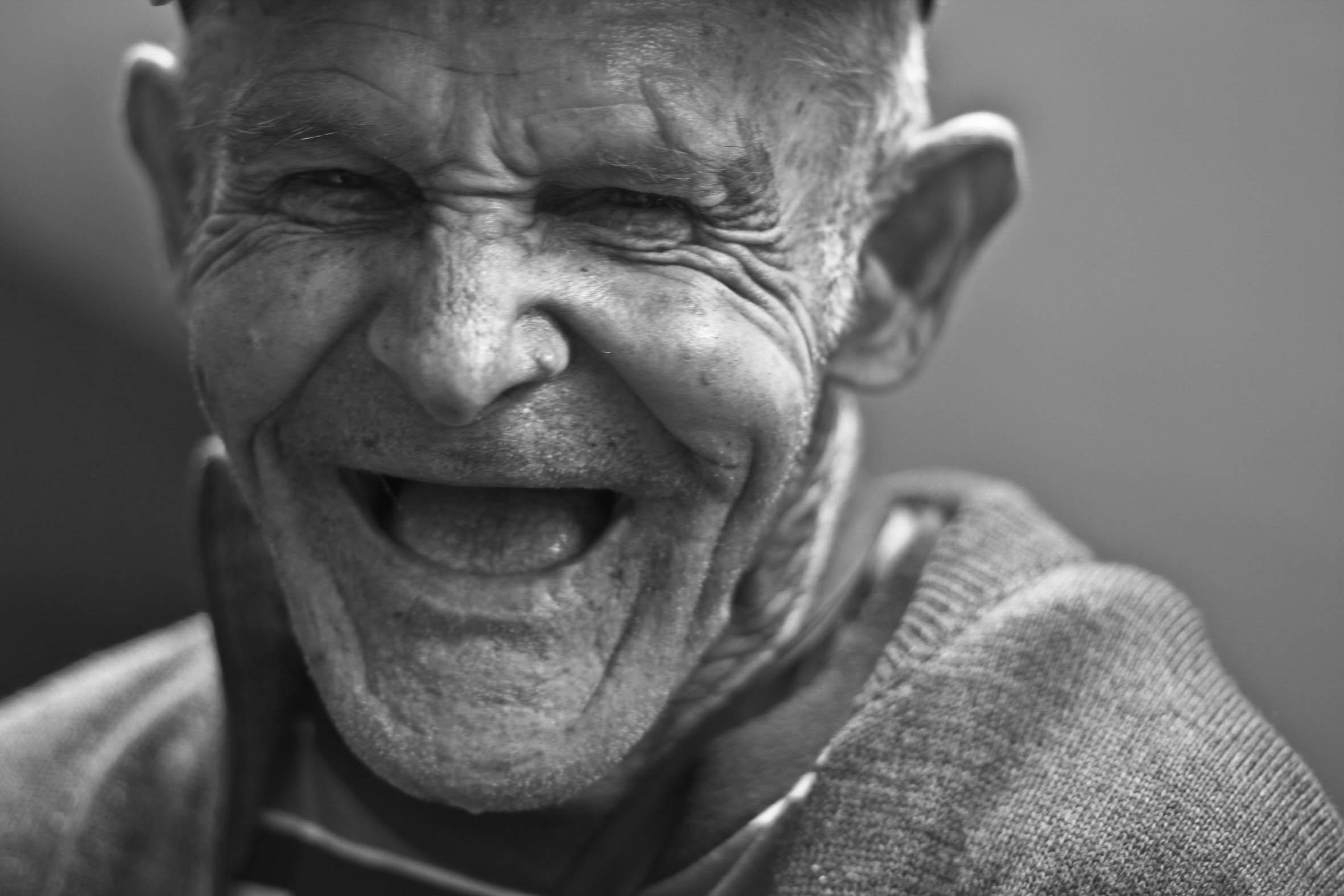 Ving Tsun sjov gammel mand